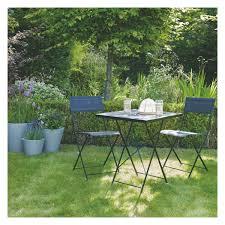 Metal Garden Chair Grange 2 Seat White Metal Folding Garden Table And Chairs Set