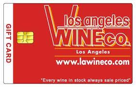 gift card company los angeles wine company gift card 25 00 25 00 la wine company