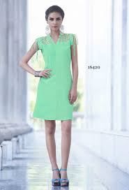 readymade light green bsy polyster kurti nikvik usa
