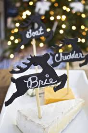 martini party ideas diy cheese marker tags virtual holiday cocktail party 2 bees