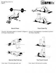 garage workout chest and hip quickie bpm rx