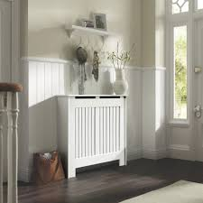 Decorative Radiator Covers Home Depot by Kensington Small White Painted Radiator Cover Radiators White