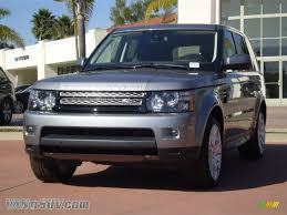 land rover metallic 2012 land rover range rover sport hse lux in orkney grey metallic