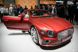 bentley red 2017 bentley continental gt