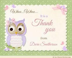 baby shower thank you custom baby shower thank you cards jungle shower thank you photo