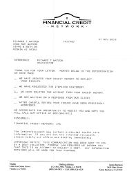 credit rebuilding samples