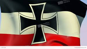 flag of german empire 1871 1918 stock animation 1191234