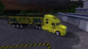 kw semi truck john deere kw cattruck and john deere semi trailer by eagle355th