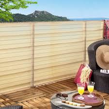 brise vue en bambou pas cher brise vue naturel plantes balcon brise vue vive le jardin