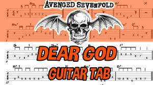 tutorial gitar dear god learn how to play dear god fingerstyle acoustic guitar lesson tabs