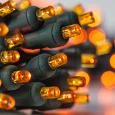 Brown Wire Christmas Lights Amazing Decoration Amber Christmas Lights Orange Mini Set 100