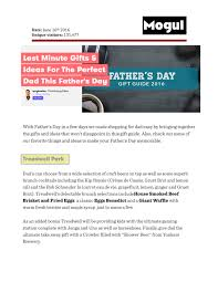 last minute gifts and ideas for the perfect dad this father u0027s day