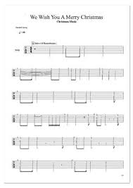 merry christmas christmas music guitar pro tab