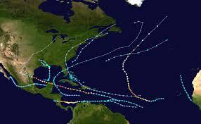 Hurricane Map 2016 Atlantic Hurricane Season Forecast Maweatherboy1 U0027s Blog