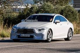 jeep mercedes 2018 the all new 2018 mercedes benz cls is shaping up to be quite a looker