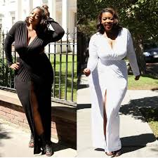 online get cheap plus size long sleev dress aliexpress com