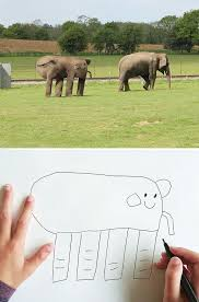 Blind Men And The Elephant Story For Children Dad Turns His 6 Year Old Son U0027s Drawings Into Reality And The