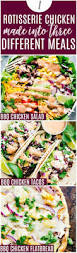 List Of Easy Dinner Ideas New Series 3 Easy Dinner Recipes To Make With One Rotisserie
