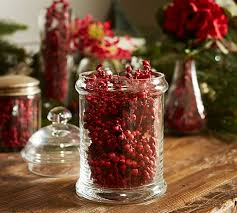 Brown Vase Fillers Twig Berries Vase Filler Pottery Barn