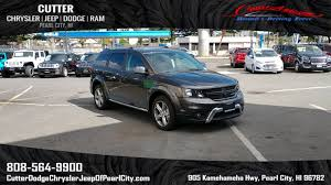 New 2017 Dodge Journey Crossrd Sport Utility In Pearl City Pd6971