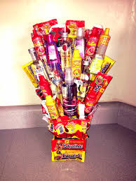halloween candy gift basket mexican candy bouquet tali pinterest mexican candy candy