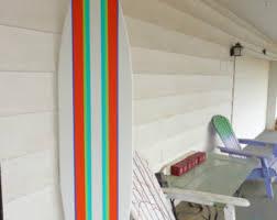 6 foot wood hawaiian surfboard wall art decor or headboard