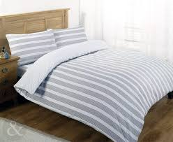 nautical bedding luxury poly cotton duvet cover set striped bed