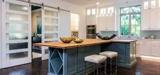 barn door for kitchen cabinets 23 sliding barn doors with glass sebring design build