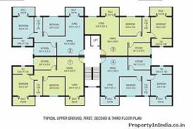 Free Home Plan Apartment Block Floor Plans U2013 House Plans Latest 1553 15725