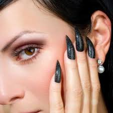 black claws nail designs claws nail designs