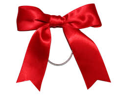 ribbon for hair pre ribbon bow with elastic loop for gift packaging kids