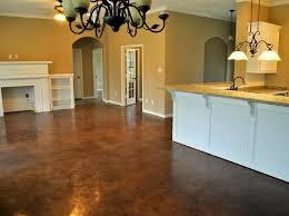 Concrete Kitchen Floor by Best 25 Stained Cement Floors Ideas On Pinterest Concrete