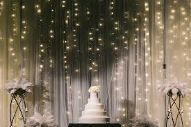 wedding backdrop fairy lights tulle fairylight backdrop merrylove weddings