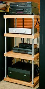Ikea Audio Rack Shelves Stunning Stereo Cabinet Ikea Stereo Shelves Wooden