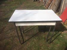 vintage metal kitchen table enamel antique tables 1900 1950 ebay