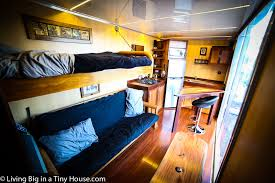 Tiny Container Homes Boat Builder U0027s Incredible 20ft Shipping Container Home Living