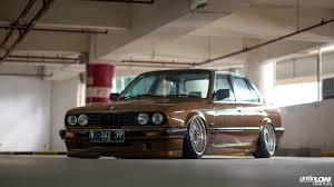 bmw e30 modified gettinlow tataq andhika bagged 1991 bmw 318i e30 m40