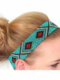 beaded headband american beaded headbands seed bead thunderbird