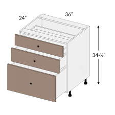 36 base kitchen cabinet with 3 drawers ba36ctdb3 slab matte black effect cooktop drawer base cabinet 3 drawer european frameless assembled kitchen cabinet