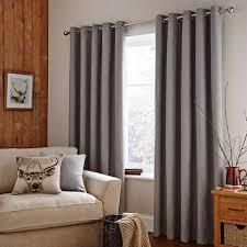 Curtain Pole Dunelm Harris Grey Thermal Eyelet Curtains Dunelm