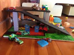 How To Build A Car Garage by Ana White Toy Garage Diy Projects