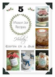diy jar craft holiday gift idea setting for four