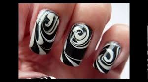 cool easy nail designs to do at home youtube