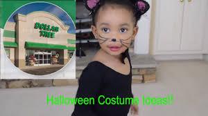 six dollar tree toddler girls halloween costume ideas youtube