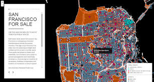 san francisco eviction map 100 outstanding interactive maps of 2015 part 2 visualoop