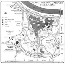 Royal Botanical Gardens Melbourne Map The Hierarchy In The Botanic Gardens