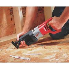 milwaukee sawzall 12a variable speed reciprocating saw kit 6509