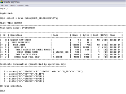 Oracle Create Table Example Understanding Oracle Explain Plans