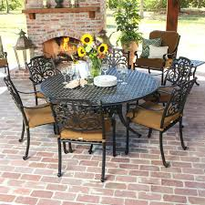 patio furniture 7 dining set patio furniture aluminum outdoor cushioned rattan wicker frame