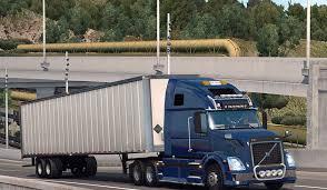 volvo trailer truck volvo vnl 670 v 1 1 for ats euro truck simulator 2 mods